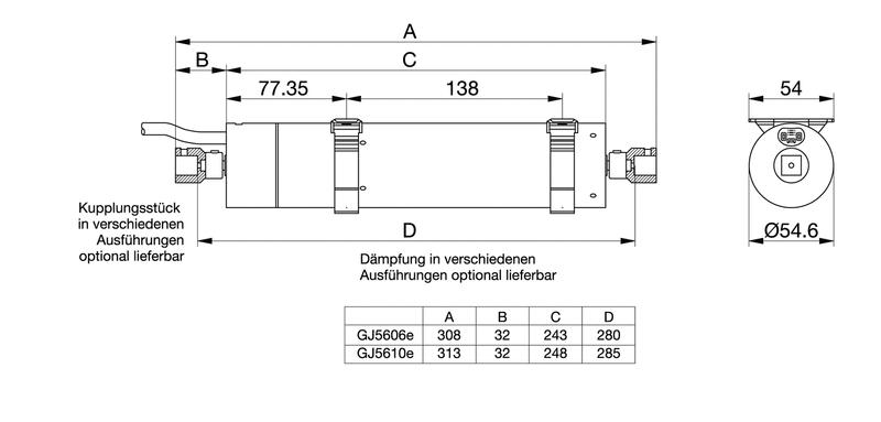Jalousiemotor Mechanisch Raffstoremotor Mechanisch